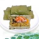 櫻花蝦荷葉粽